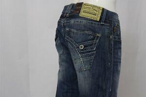 SALVAGE-Men-039-s-Jeans-Bootleg-MAYHEM-100-Cotton-Denim-Men-039-s-Size-32R-32-x-33