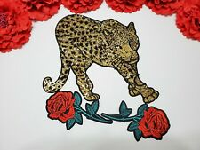 Fashion Flower patch Tiger patch Iron on 3pc//set Sword patches