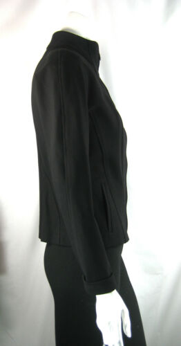 Carlisle Jakke Front Størrelse 0 Zip Langærmet Black Fxqw0raF