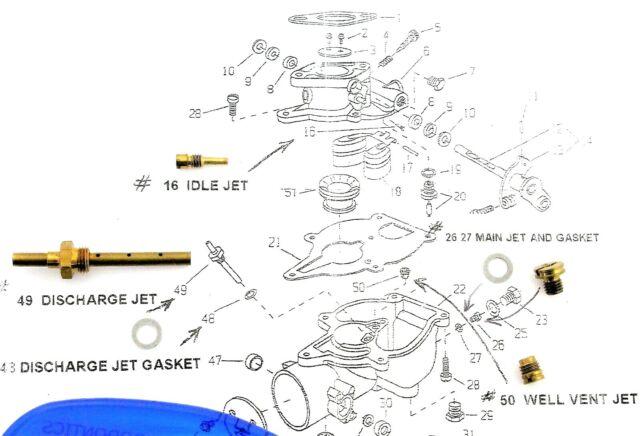 Carburetor Fits Wisconsin Engine TJD Replaces L63bl L63-bl 13420 Zc15 for  sale online   eBay   Wisconsin Tjd Engine Diagram      eBay