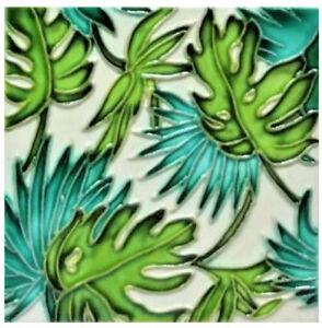 Tropical Leaves Art Tile 4 X4 Decorative Ceramic New Sd 166 Leaf Green White 840069108770 Ebay Download the perfect tropical leaves pictures. details about tropical leaves art tile 4 x4 decorative ceramic new sd 166 leaf green white
