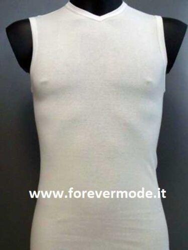 Pullover Herren Gicipi Ärmellos mit V-Ausschnitt in Gekämmte Baumwolle Art