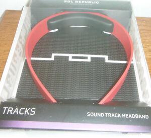 SOL Republic 1305-33 Sound Track Headband (RED)