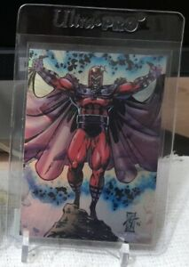 SKYBOX 1993 X-Men Series 2 MAGNETO Hologram Card