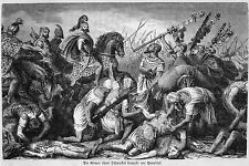 Hannibal Barca Battle of Cannae 7x4 Inch Print 8