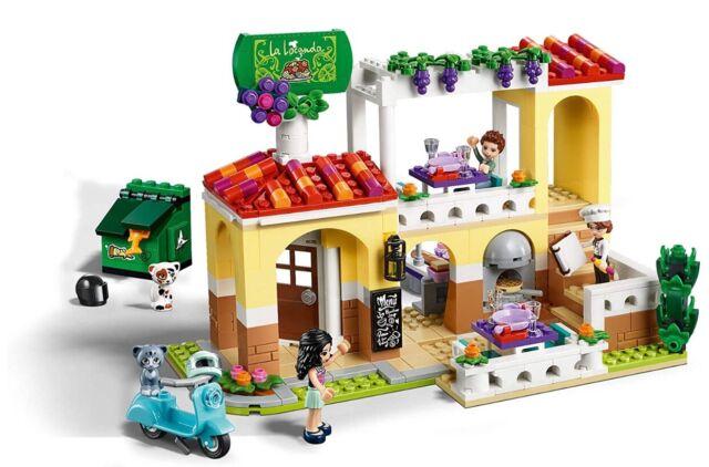 LEGO Friends Heartlake City Restaurant (41379) Toy Kitchen ...