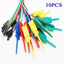 10xtest Hook Clip For Logic Analyser Dupont Female Cable Arduino Raspberry Pi
