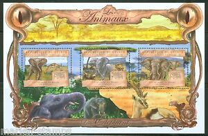 Guinee-2013-les-animaux-elephant-feuille-neuf-sans-charniere