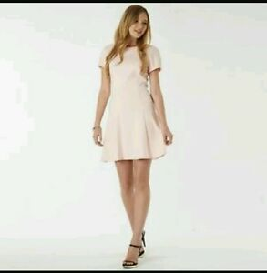 NWT Ted Baker Womens MONAA Lace detail textured dress