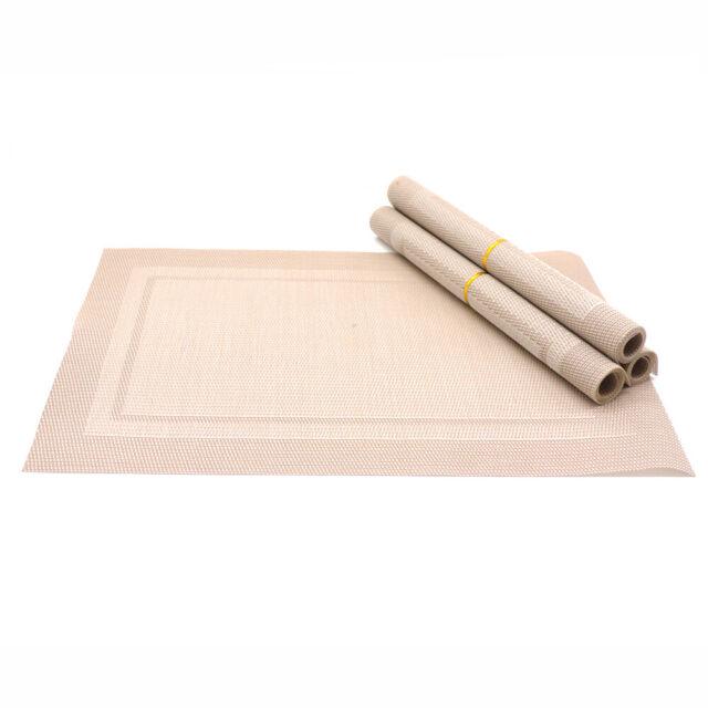 Continenta Tischset Platzset Platzmatte Tischmatte 45 x 31 cm schwarz