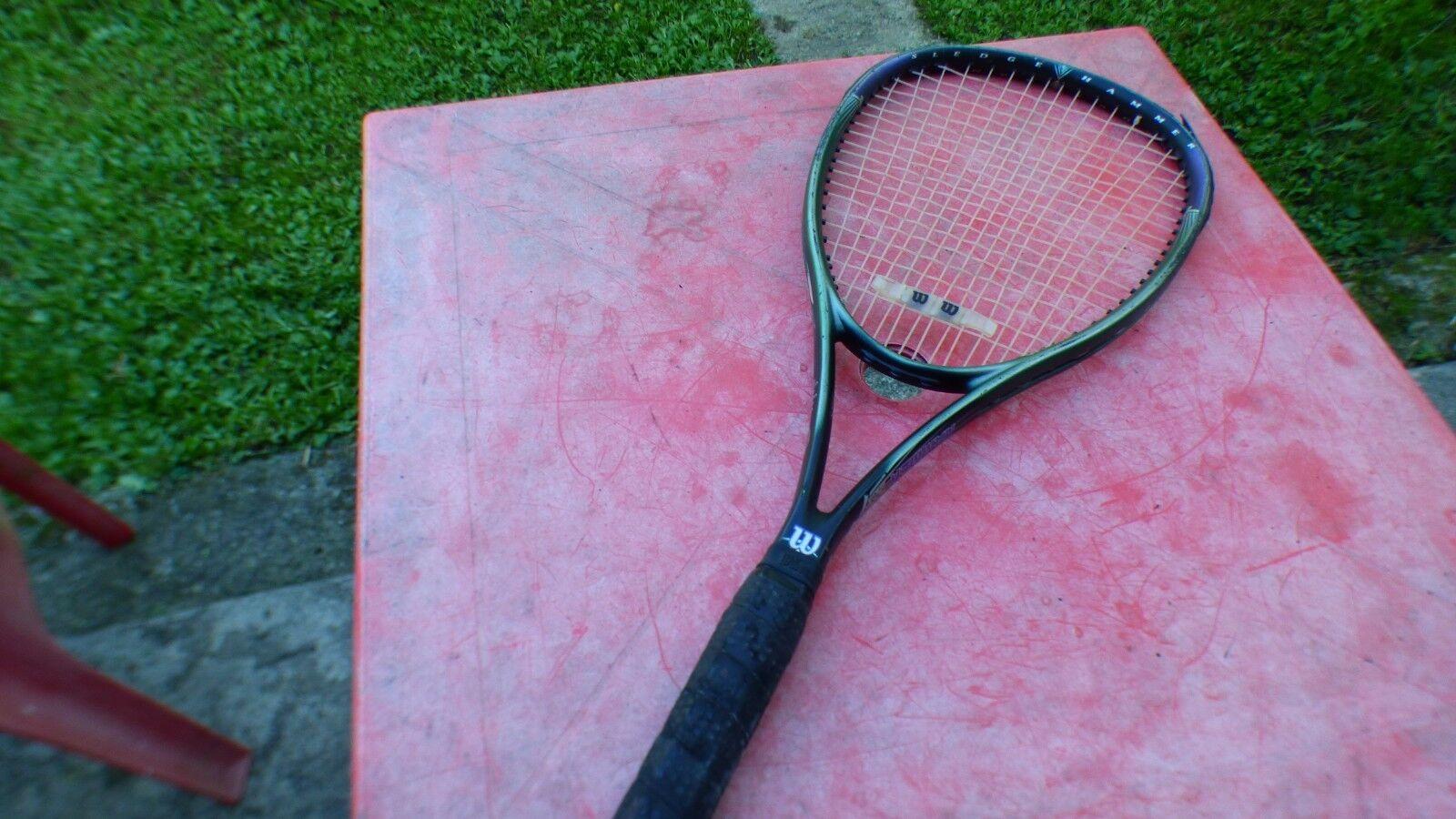 Raquette de tennis Wilson Hammer 7.8  L 4 racquet vintage