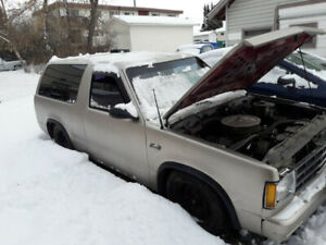 1985 S-10 Blazer V8 swap