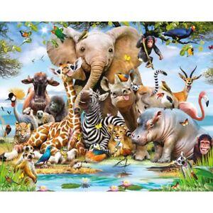 Walltastic-Jungle-Safari-Animaux-Papier-Peint-Mural-Mur-Enfants-2-44m-X-3-05m