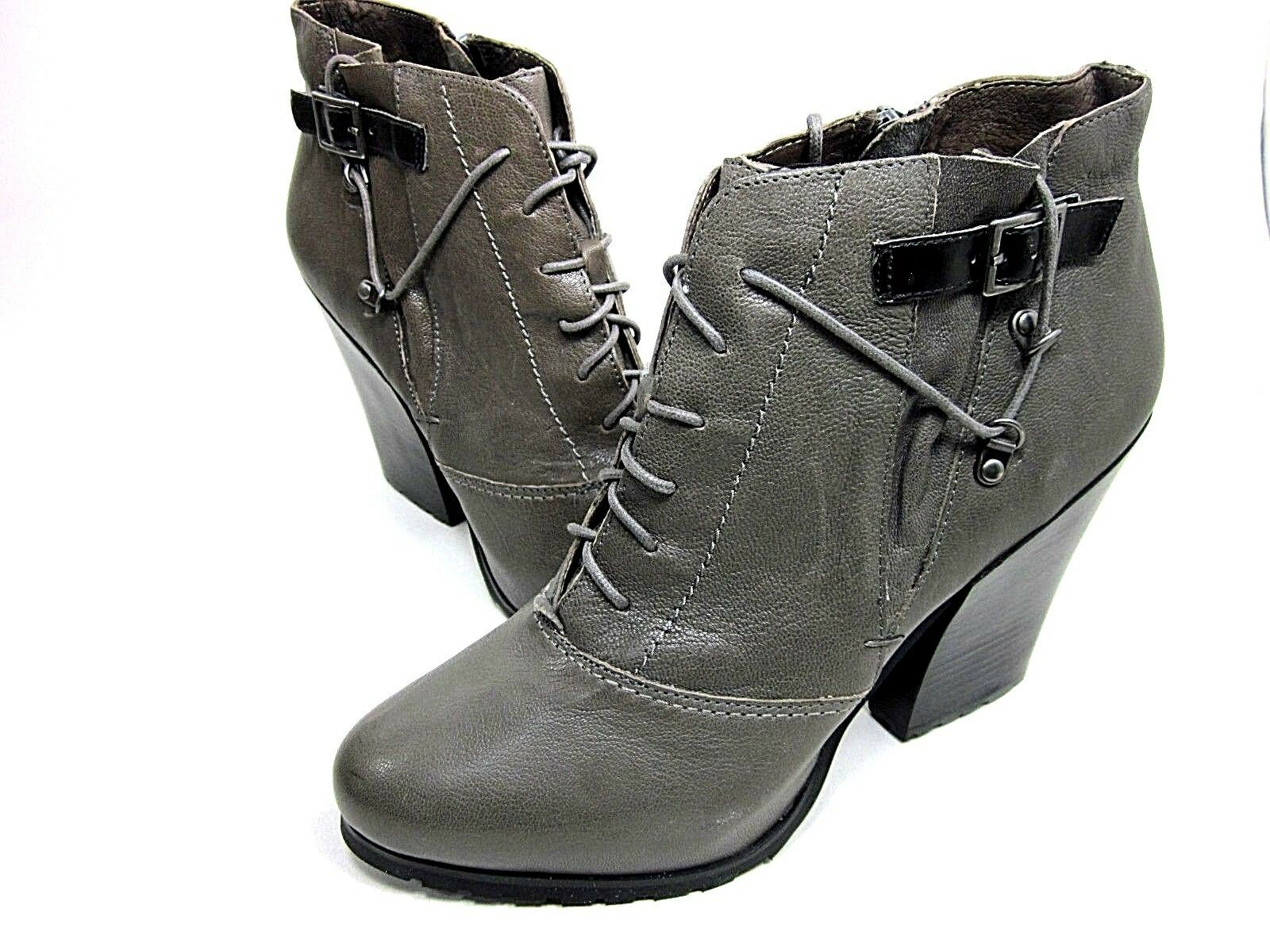 BACIO61, PESANTI ANKLE BOOT, WOMEN'S, DUST GREY, US SIZE 9.5 M NEW/DISCOLORED