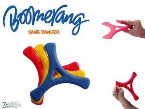 Boomerang D'intérieur En Mousse, Indoor Boomerang, Innen Bumerang