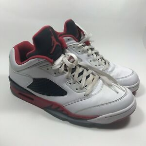 check out 5c43b 75d98 Image is loading Nike-Air-Jordan-5-V-Low-Retro-034-