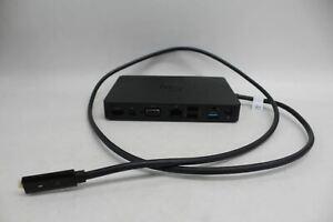 DELL-Docking-Station-USB-C-modello-K17A001-HDMI-VGA-Mini-DP-PORTE-nero-DIFETTOSO