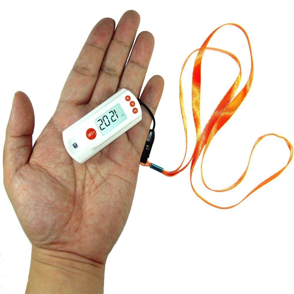 Portable LCD Mini Pulse Heart Rate monitor finger tip m