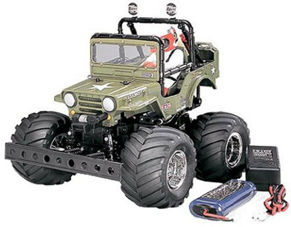 Tamiya 1 10 Expert Built Series No.43 XB Wild Willy 2 Painted 57743 Japan Import