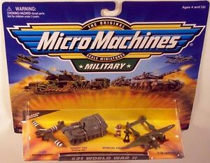 Military-Micro-Machines-1999-21-WORLD-WAR-II-MOC-C-47D-Elephant-P-38-Lightning