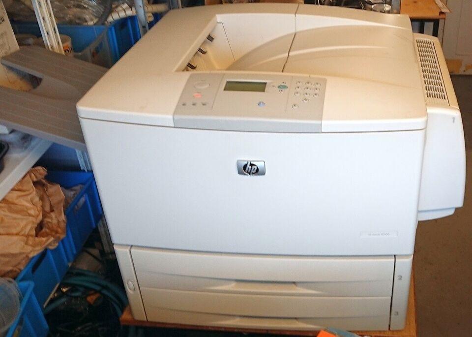 Laserprinter, HP LaserJet 9040dn, - A3 & A4 Laserjet