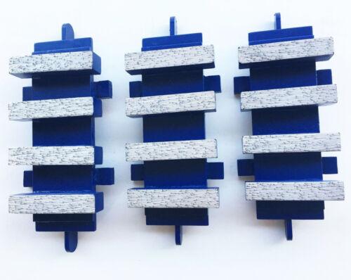 BEST QUALITY GUARANTEED! New 3Pack EDCO Diamond Grinding Block Dyma-Sert