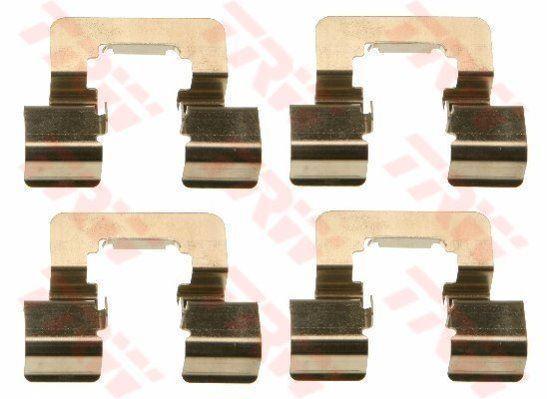 TRW PFK618 Accessoire Kit Plaquettes Disque de Frein Arrière