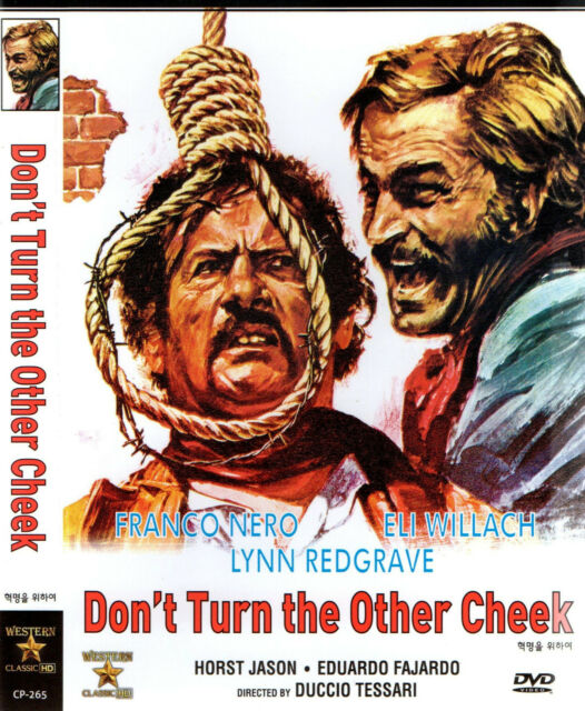 Don't Turn The Other Cheek - Franco Nero Eli Wallach (NEW) Spaghetti Western DVD