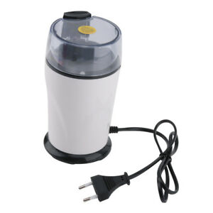 Portable 110w Electric Coffee Grinder Beige