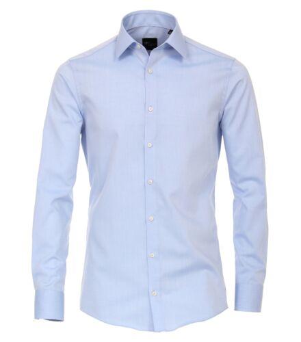 Venti-Slim fit-STAFFA Libero Calzini Business Camicia con Maniche Lunghe extra 72cm
