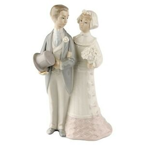 lladro wedding cake topper lladro quot amp groom quot 4808 getting married 5569