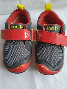 Plae Ty Red Boy Shoes Steel youth Size