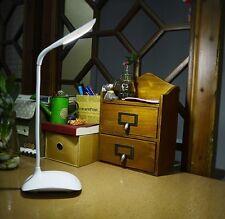 LAMPE DE BUREAU USB LED TACTILE  FLEXIBLE VEILLEUSE CHEVET IDEE CADEAU ORIGINALE