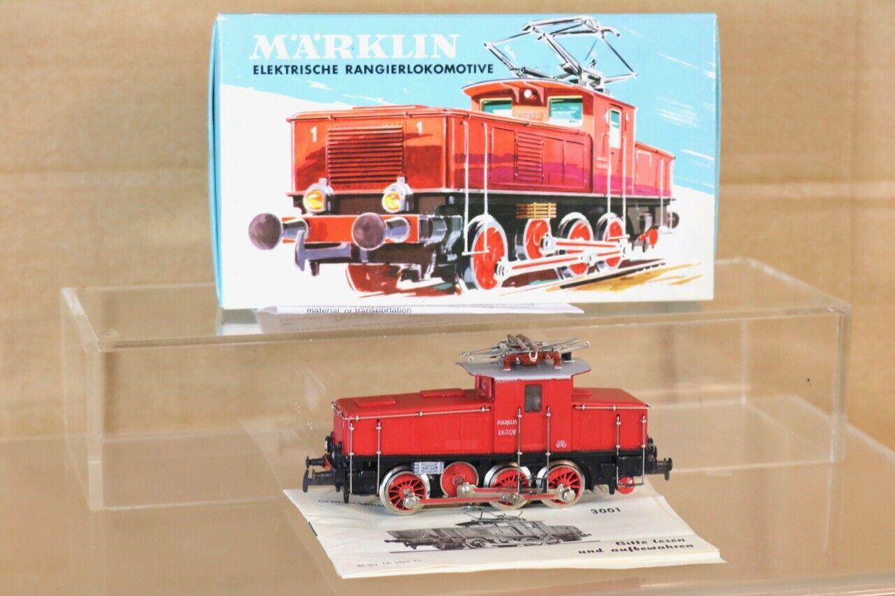 Marklin Märklin 3001 Numérique Db 0-6-0 Classe Br E63 02 E-Lok Locomotive
