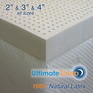 Latex Mattress Topper.Details About New Certified 100 Natural Dunlop Latex Mattress Pad Topper Green Us Made