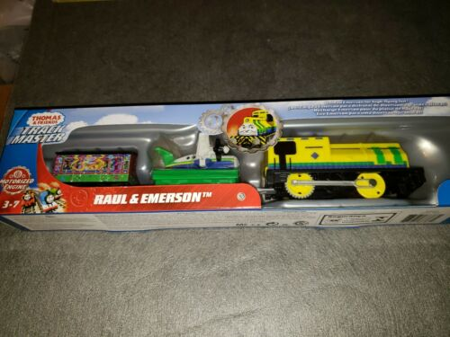 Thomas /& Friends Fisher-Price Trackmaster Raul and Emerson NEW