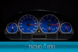 Tachoscheibe-fuer-BMW-Tacho-E46-Benzin-oder-Diesel-M3-Blau-3078-Tachoscheiben