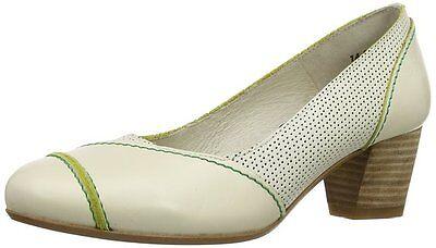 Fly London Kova Para Mujer Zapatos Tenis RRP £ 110 Talle 4 5 6 7 panna (crema)