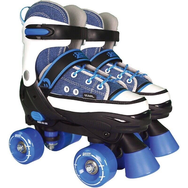 Kinder Rollschuhe Skates ABEC 7 leichtlauf Rollen High Quad Skater BEST SPORTING