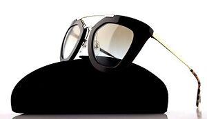 NEW Genuine PRADA Ladies CINEMA Collection Brown Gold Sunglasses SPR 09Q DHO-4S2