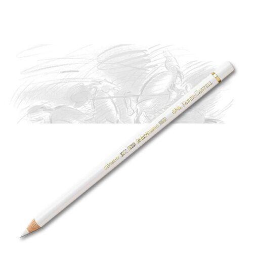 weiß Faber-Castell 110101 Künstlerfarbstift Polychromos 101