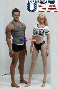 PHICEN-TBLeague-1-6-Scale-Steel-Skeleton-SEAMLESS-Figure-Body-Doll-Set-U-S-A