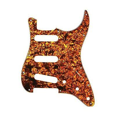 D/'Andrea 4-Ply 11-Hole Stratocaster Pickguard 3-Single Coil Orange Pearl