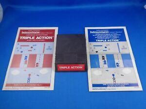 INTELLIVISION --> TRIPLE ACTION / CARTRIDGE