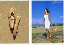 PUBLICITE ADVERTISING 064 2000 FERRAGAMO chaussures sacs Italiens (2 pages)