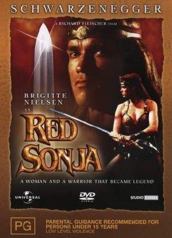 Red Sonja  - DVD R4 - Arnold Schwarzenegger- Free Post!