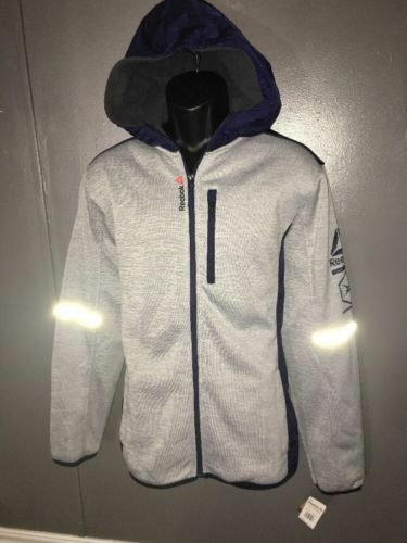Mens Reebok Softshell Training Active UFC Crossfit Jacket NWT $160