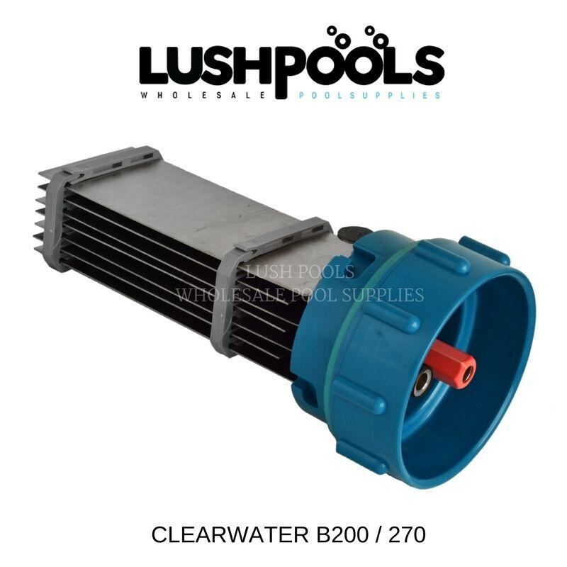 Clearwater B200   B270 Generic Chlorinator Salt Cell Solid Plate  5yr Warranty