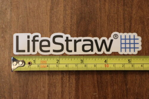 LIFESTRAW Water Filter Purifier STICKER Decal NEW Name