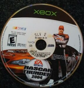 Nascar-Thunder-2004-Microsoft-Xbox-Original-Tested-Disc-Only-Rare-Video-Game
